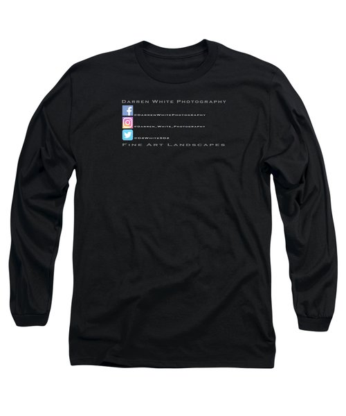 Sm Logo  Long Sleeve T-Shirt by Darren White