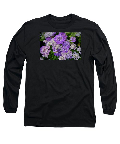 Small Pink Flowers 10 Long Sleeve T-Shirt