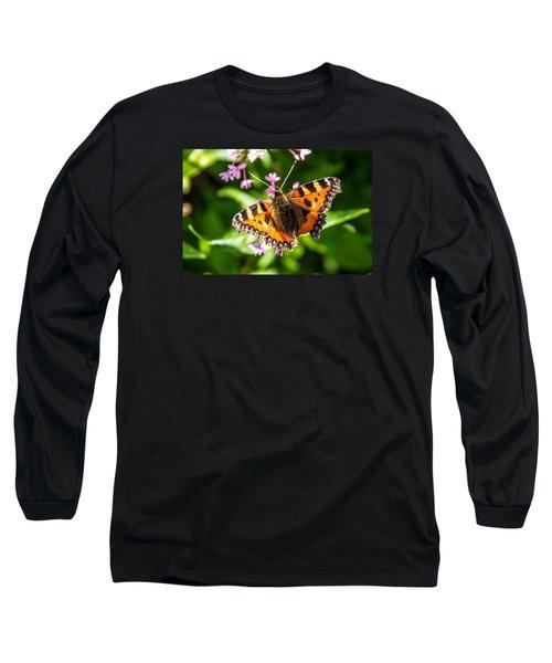 Small Tortoiseshell Long Sleeve T-Shirt by Martina Fagan