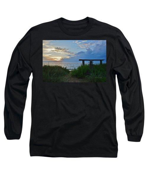 Small World Sunrise   Long Sleeve T-Shirt