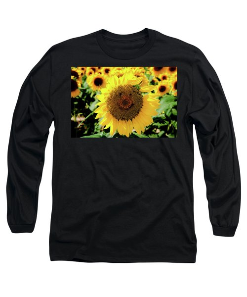 Long Sleeve T-Shirt featuring the photograph Smile by Greg Fortier