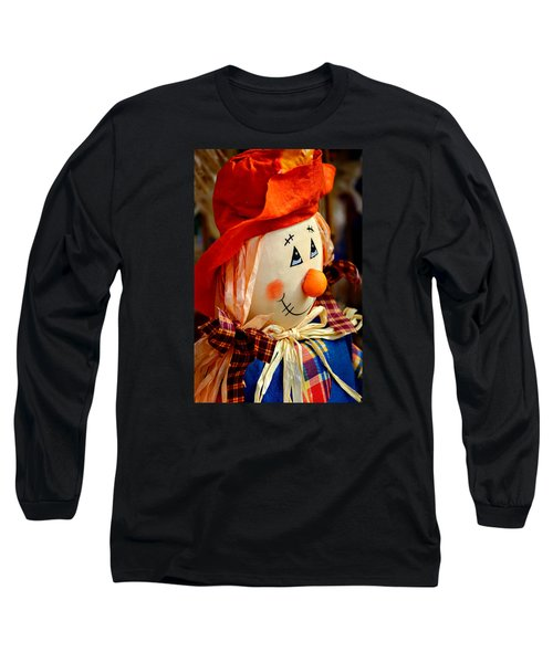 Long Sleeve T-Shirt featuring the photograph Smiling Face 2 by Julie Palencia