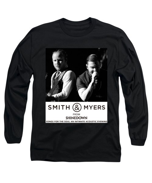 Smith And Myers From Shinedown Acoustic 217 Long Sleeve T-Shirt