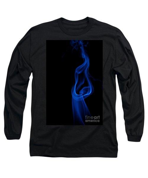 Long Sleeve T-Shirt featuring the photograph smoke XII by Joerg Lingnau