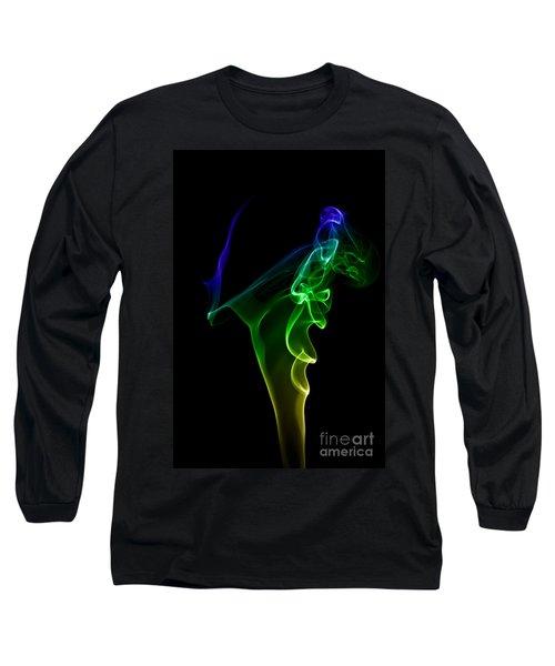 Long Sleeve T-Shirt featuring the photograph smoke XIV by Joerg Lingnau