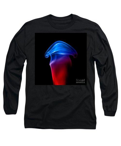 Long Sleeve T-Shirt featuring the photograph smoke XXIX by Joerg Lingnau