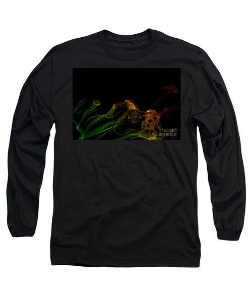 Long Sleeve T-Shirt featuring the photograph smoke XXXI by Joerg Lingnau