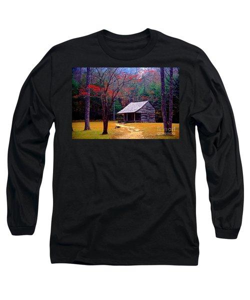 Smoky Mtn. Cabin Long Sleeve T-Shirt