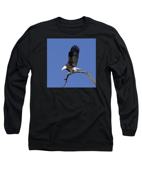 Smooth Landing 2 Long Sleeve T-Shirt by David Lester