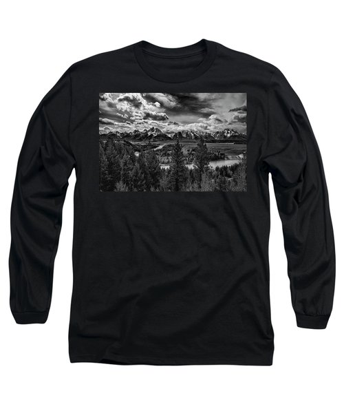 Snake River And Tetons Long Sleeve T-Shirt