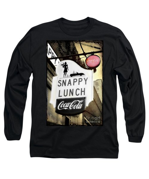 Snappy Lunch Long Sleeve T-Shirt