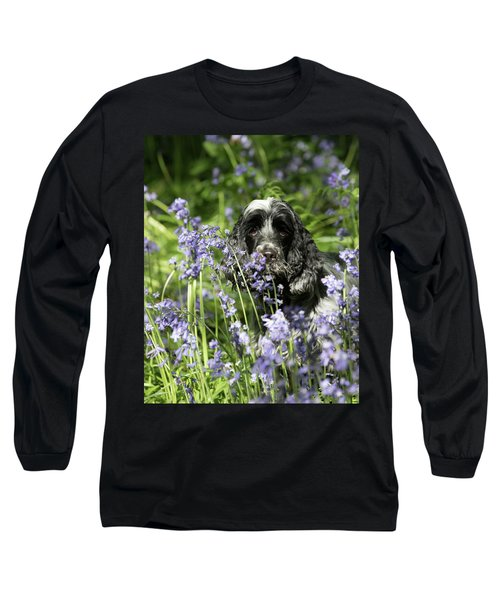 Sniffing Bluebells Long Sleeve T-Shirt