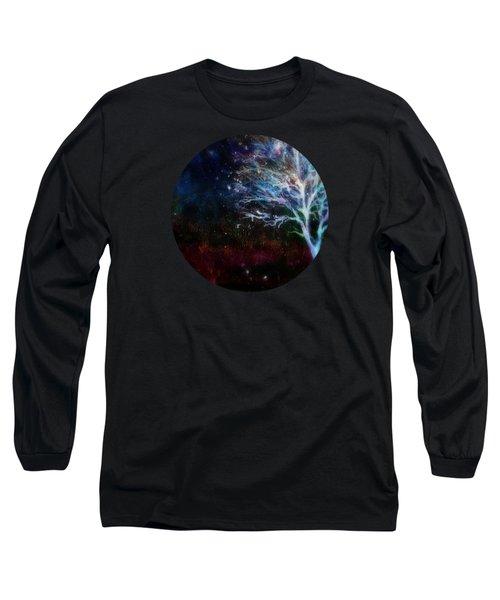 Snow At Twilight Long Sleeve T-Shirt