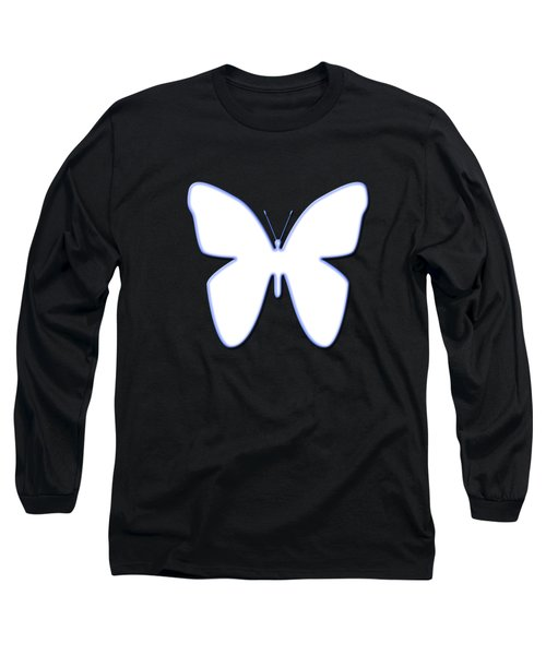 Snow Butterfly Long Sleeve T-Shirt