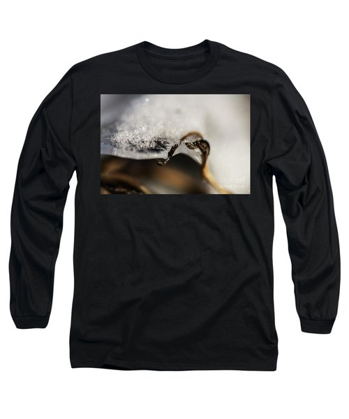 Snow Cryrstals Long Sleeve T-Shirt