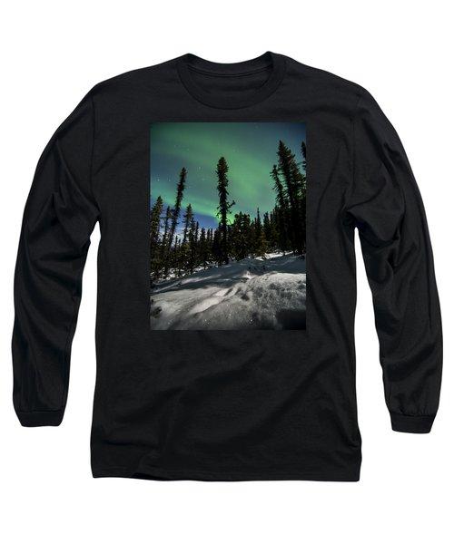 Snow Trails  Long Sleeve T-Shirt