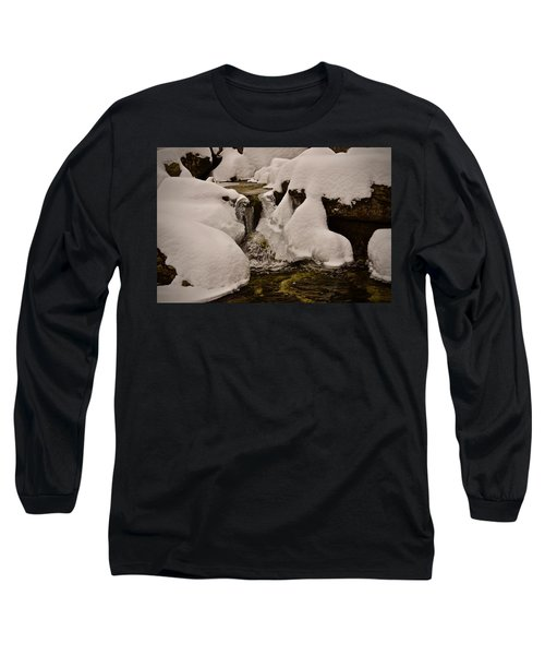 Snowcone Stream Long Sleeve T-Shirt
