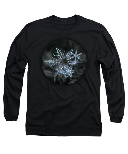 Long Sleeve T-Shirt featuring the photograph Snowflake Of 19 March 2013 by Alexey Kljatov