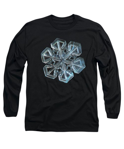 Snowflake Photo - Alcor Long Sleeve T-Shirt