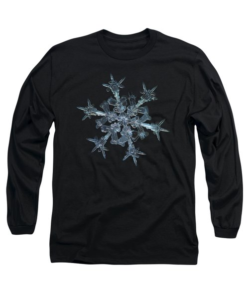 Snowflake Photo - Starlight Long Sleeve T-Shirt