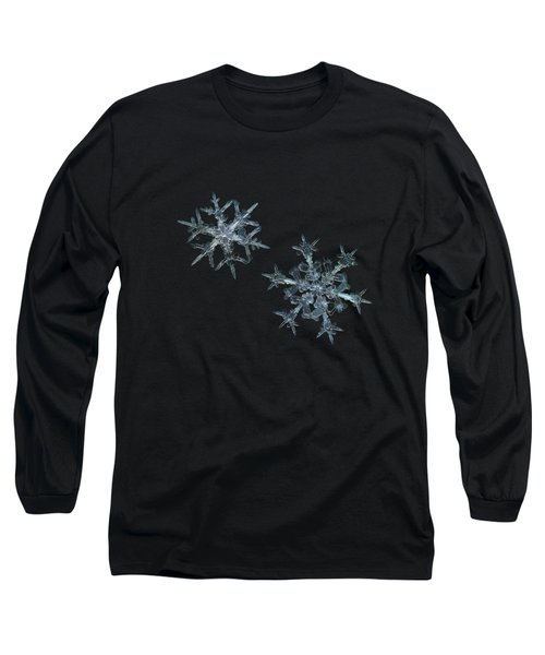 Snowflake Photo - When Winters Meets - 2 Long Sleeve T-Shirt