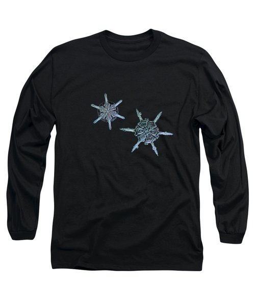 Snowflake Photo - When Winters Meets Long Sleeve T-Shirt