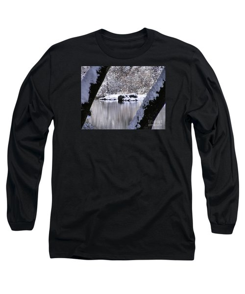 Snowy Bear River Long Sleeve T-Shirt
