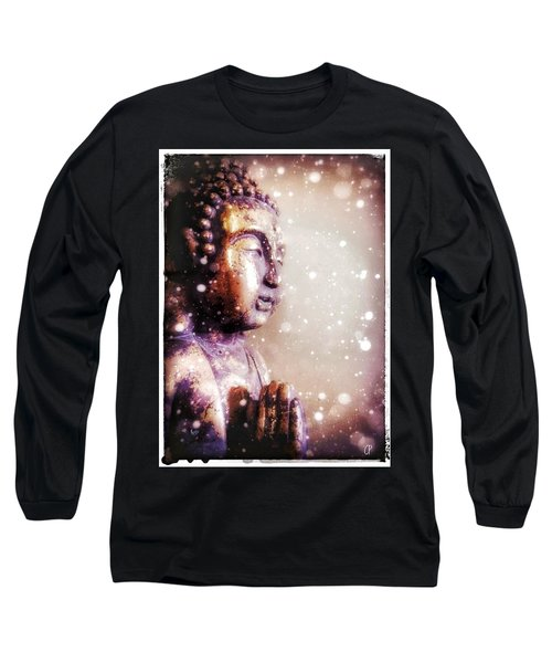 Snowy Buddha Long Sleeve T-Shirt