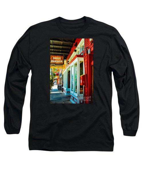 Snug Harbor Jazz Bistro- Nola Long Sleeve T-Shirt by Kathleen K Parker