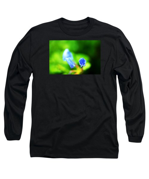 So Blue Long Sleeve T-Shirt by Greg Allore