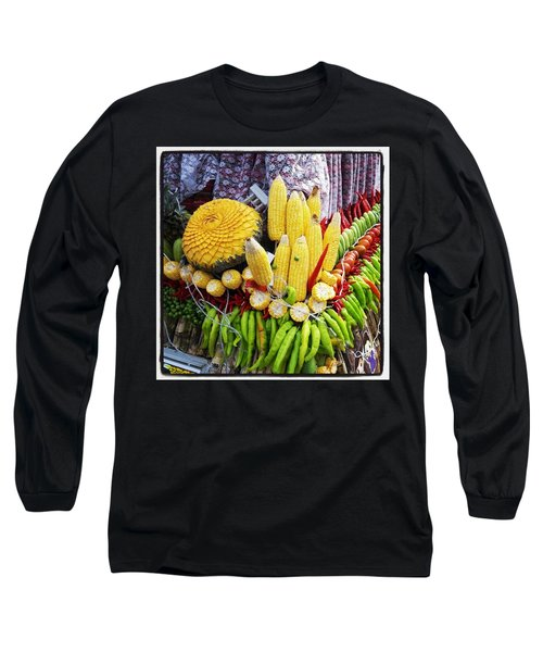 Long Sleeve T-Shirt featuring the photograph So, Elephants Eat Red Hot Chile by Mr Photojimsf