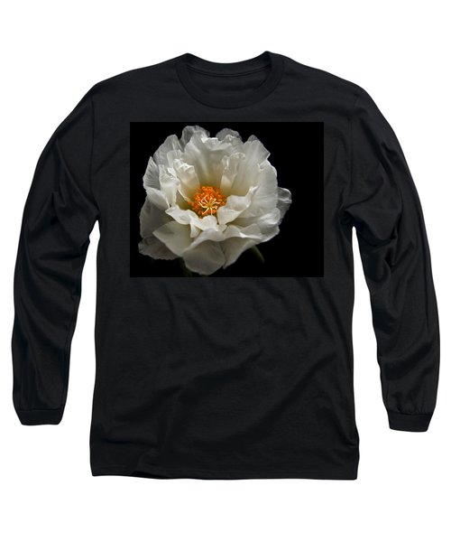 Long Sleeve T-Shirt featuring the photograph Soft And Pure by Judy Vincent
