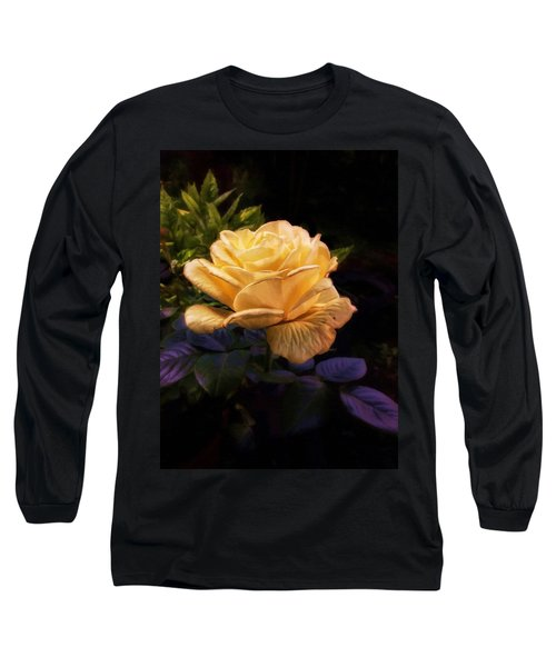 Soft Gold Rose Long Sleeve T-Shirt