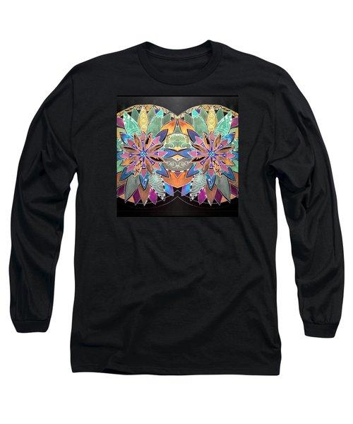 Soft Mandala Long Sleeve T-Shirt by Sandra Lira