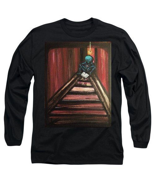 Solamente Alien Long Sleeve T-Shirt