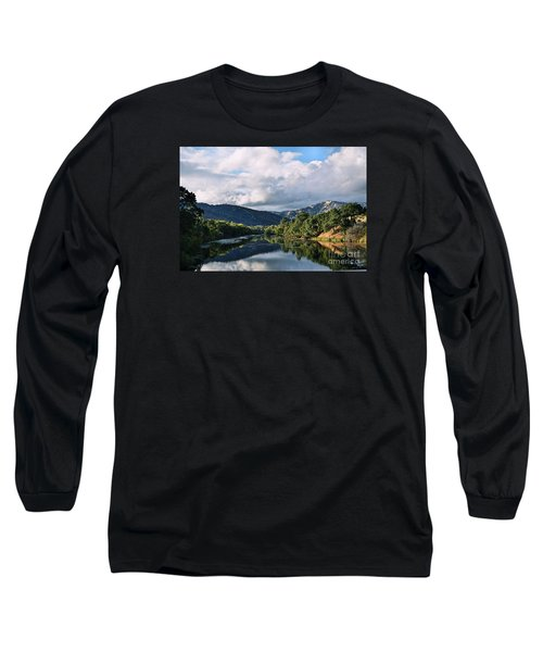 Solano Lake In The Fall Long Sleeve T-Shirt