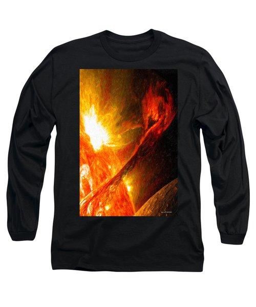 Solar Mass Ejection Long Sleeve T-Shirt