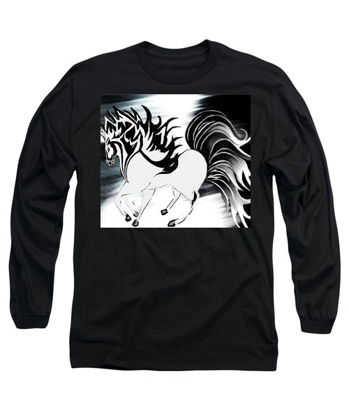 Soldier Horse Long Sleeve T-Shirt