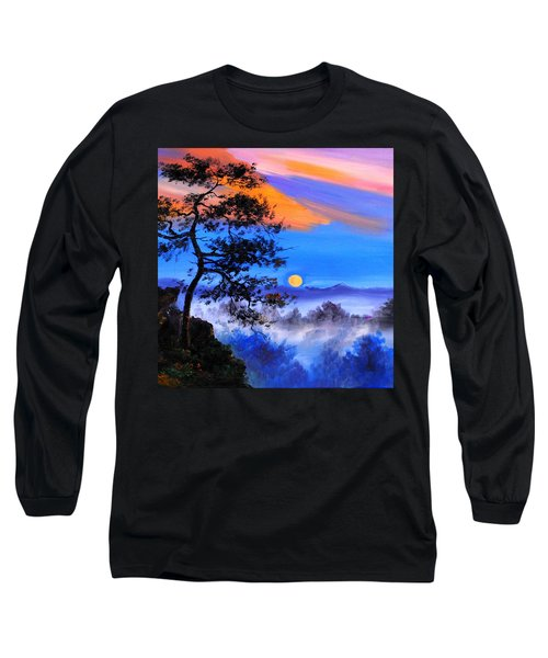 Solitude Long Sleeve T-Shirt by Karen Showell