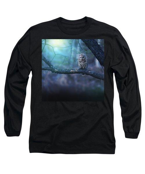 Solitude - Square Long Sleeve T-Shirt by Rob Blair