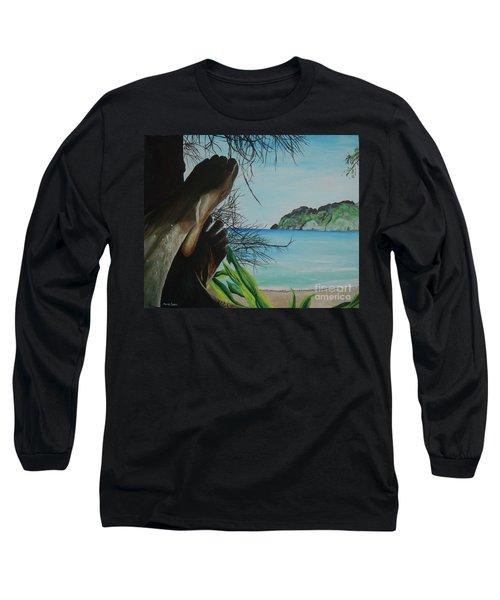 Solo Long Sleeve T-Shirt by Stuart Engel