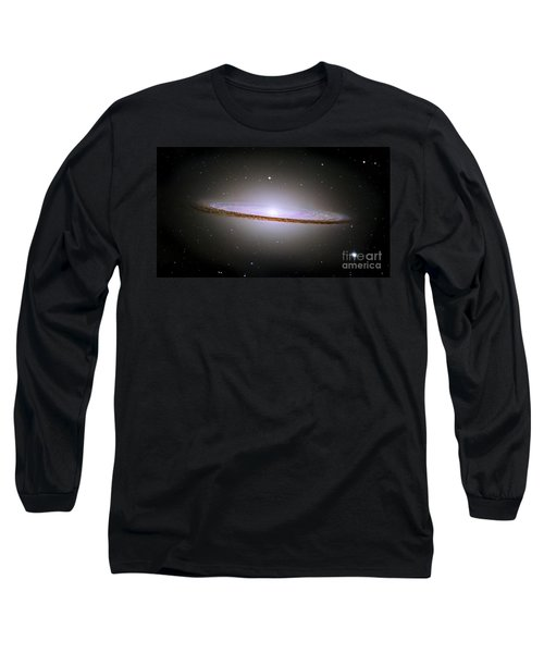 Sombrero Galaxy Long Sleeve T-Shirt