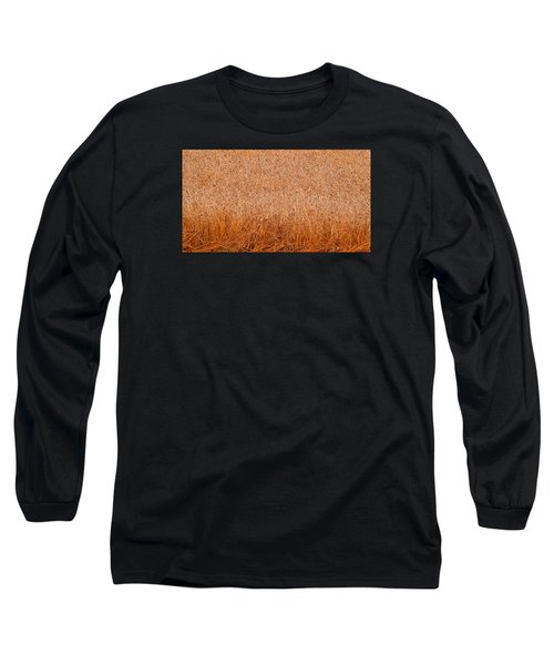 Long Sleeve T-Shirt featuring the photograph Some Grain Cut 2  by Lyle Crump