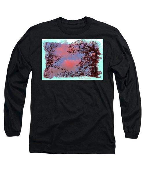 Sometimes Quiet La Vernia Is Wild Long Sleeve T-Shirt by Carolina Liechtenstein