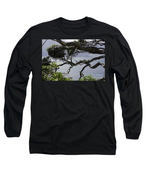 Somewhere Around Whangarei, New Zealand Long Sleeve T-Shirt by Yurix Sardinelly