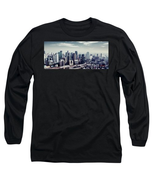 Somewhere In Japan Long Sleeve T-Shirt by Joseph Westrupp
