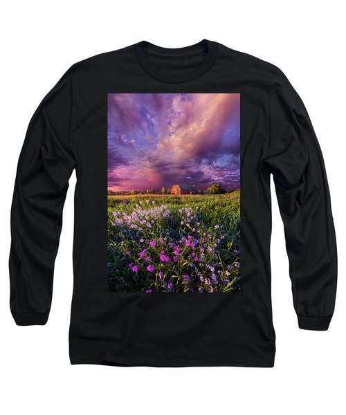 Long Sleeve T-Shirt featuring the photograph Songs Of Days Gone By by Phil Koch