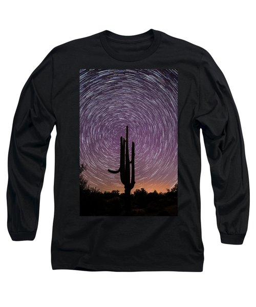 Sonoran Star Trails Long Sleeve T-Shirt