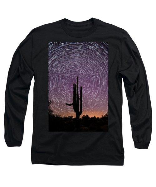Sonoran Star Trails Long Sleeve T-Shirt