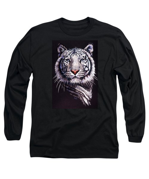 Long Sleeve T-Shirt featuring the drawing Sorcerer by Barbara Keith